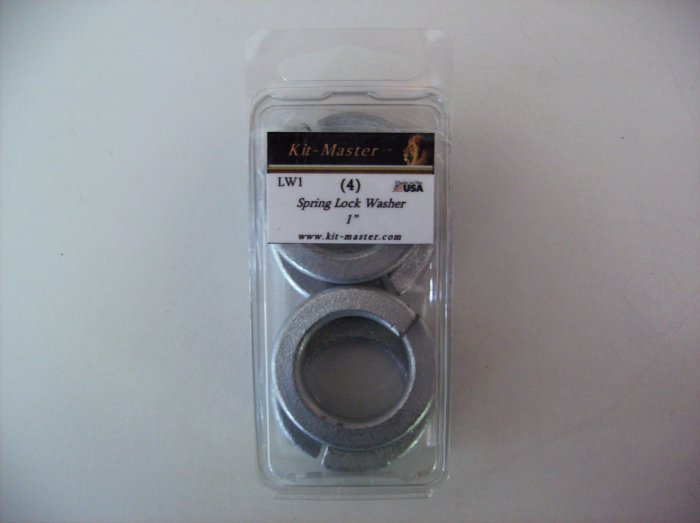 "Kit-Master 1"" Spring Lock Washer  LW1"