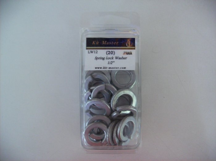 "Kit-Master 1/2"" Spring Lock Washer  LW12"
