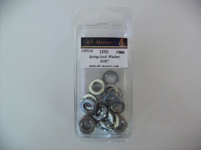 "Kit-Master 5/16"" Spring Lock Washer LW516"