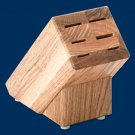 B42 Creative Cuts Oak Knife (Block Only) for 6 knives (Rada Cutlery)