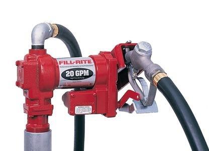 FR4210G Tuthill/FillRite 12vDC 20 GPM Pump Gasoline/Diesel Fuel Transfer Tank Pump