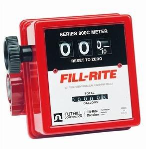 "807C Fillrite 3/4"" Npt 5-20 GPM Gas/Diesel Fuel Meter"