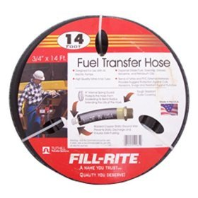 "FRH07514 Fill-Rite 3/4"" x 14 Ft  Fuel Tank Transfer Pump Hose"
