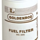 56608 (595-5) Diesel/Gas 10 Micron spin-on Fuel Filter (Goldenrod)