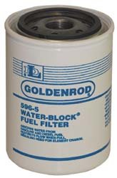 56612 (596-5) Diesel/Gas WATER-BLOCK Filter replacement canister Filter