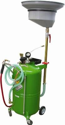 1236 Zeeline Adjustable Waste Oil Drain 23 Gallon Capacity