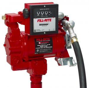 FR311V Tuthill/FillRite 115vAC 35 GPM Pump Diesel/Gasoline Fuel Tank Transfer Pump with Meter