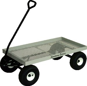 "580 SpeedWay 22"" x 40"" Heavy Duty Metal Amish Made Toy Wagon 800#"