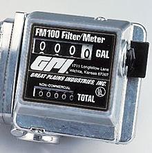 """FM200G8N,GPI 111200-4 Diesel Fuel/Gas 1""""Npt 4-20 GPM Meter"""