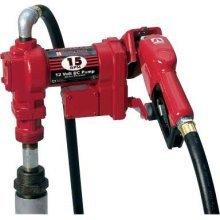 FR1210GA Tuthill/FillRite 12vDC 15 GPM Pump Gasoline/Diesel Fuel Transfer Tank Pump w/ auto nozzle