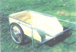 Conestoga 8 Bushel #20 Amish Made Farm & Garden Cart