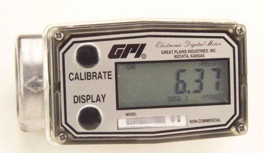 113700-01 GPI  03A31GMME Methanol Meter 3-50 GPM