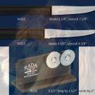 G236 Paring Knife Pair plus Sharpener Holiday Gift Set-Black Handle (Rada Cutlery)