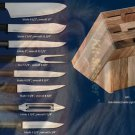 G243 Colossal Knives w/Oak Block Holiday Gift Set (Rada Cutlery)