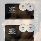 R119-2 Rada Cutlery Quick Edge Knife Sharpener with Hardened Steel Wheels (Pack of 2)