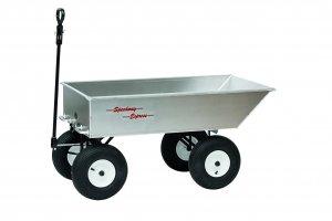 "1000 ATV 4 Wheel 6 ft³ Aluminum Dump Trailer/Wagon 25"" x 47"" x 10"""