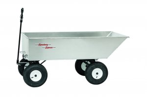 "2000 ATV 4 Wheel 12 ft³ Aluminum Dump Trailer/Wagon 30.5"" x 60"" x 13"""