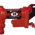 FR4204G Fillrite 12vDC Hi-Flow 20 GPM Pump Only