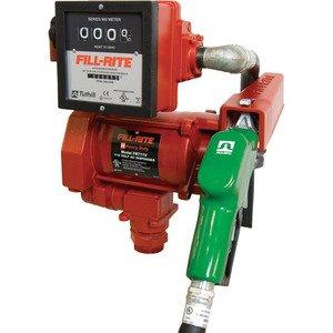 """FR711VLA Fillrite 115vAC 1"""" 75 Lpm Hi Flow Auto Nozzle, 901L Meter"""
