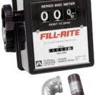 "807CMK Fillrite 5-20 Gpm 3 Wheel Meter 3/4"" Npt"