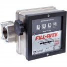 "901N1.5 Fillrite 6-40 GPM 1-1/2"" Meter Nickel Plated"