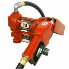 FR1210GEA Tuthill/FillRite 12vDC 15 GPM Gasoline/Diesel Fuel Transfer Pump w/ auto nozzle (BSPP)