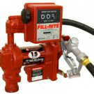 FR1211GEL Tuthill/FillRite 12vDC 57 LPM Diesel/Gas Transfer Pump/Liter Meter (BSPP)