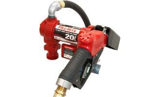 FR4210GEB Fillrite 12vDC 20 Gpm Hi-Flo Pump,Auto Nozzle (BSPP)