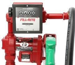 FR4211GEBL Tuthill/FillRite 12vDC 76 LPM Gasoline/Diesel Fuel Transfer Tank Pump (BSPP)
