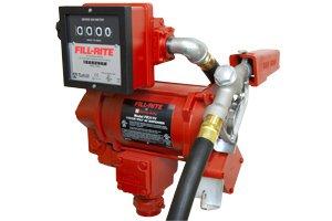 FR311VEL Tuthill/FillRite 115/230vAC 114 LPM Diesel/Gasoline Fuel Transfer Pump w/Meter(BSPP)