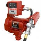 FR701VEL Tuthill/FillRite 230vAC 75 LPM Pump Diesel/Gasoline Fuel Transfer Pump w/ Meter (BSPP)