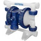 """SP100-05B-PP-TTP FillRite 1/2"""" BSPP Poly Air Diaphragm Pump"""