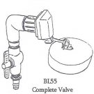 BL55 Complete Valve Assembly Lapp Waterer