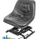 533223R91 Universal High Back Industrial Seat w/ Suspension Slide Track