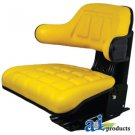 W222YL John Deere Utility Tractor Seat (Yellow)