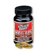 Meg EPA Caps (Maximum Omega 3 Fatty Acids) - 30 Softgels