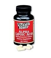 Alpha Lipoic Acid 50 mg plus - 100 Tablets