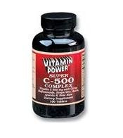 Super C 500 mg Complex - 100 Tablets