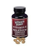Vitamin E & Selenium Complex - 100 Softgels