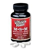 M.S.M 1177 mg (Methyl Sulfonylmethane) - 90 Tablets