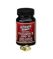Natural Vitamin E 400 IU - 100 Softgels