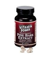 Pine Bark Extract 30 mg 4-1 ratio - 90 Tablets