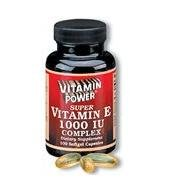 Vitamin E 1000 Complex - 30 Softgels