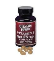 Vitamin E & Selenium Complex - 100 Softgel