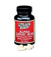 Alpha Lipoic Acid - 100 Tablets