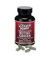 Nutri-Green Caps (Green Barley Extract) - 100 Capsules