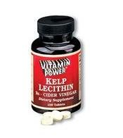 Kelp Lecithin B6 plus Cider Vinegar - 100 Tablets