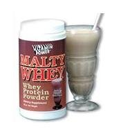 Malty Whey Protein Powder - 16 oz