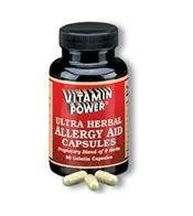 Ultra Herbal Allergy Aid - 90 Capsules