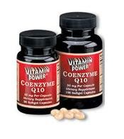 Coenzyme Q10 Softgels - 30 mg - 50 Capsules